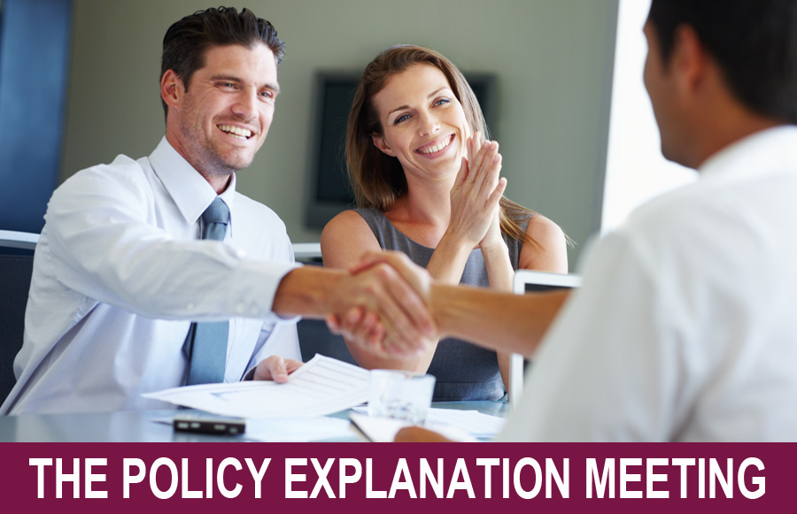 The Policy Explanation Meeting