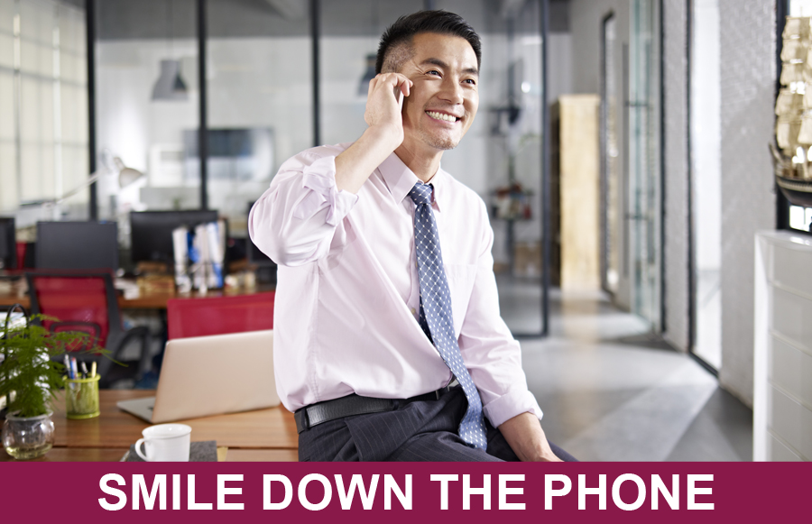 Smile Down The Phone